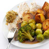 Calorie Low Calories Sunday Roast Meat